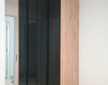 Hệ khung 250 sơn tĩnh điện màu đen Kính sơn màu đen