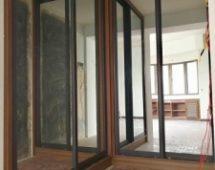 Hệ khung G7 sơn tĩnh điện màu đen Bề mặt kính gương